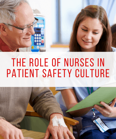 nurses role in patient safety culture