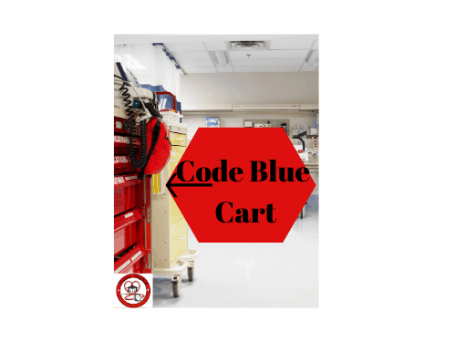 code blue: emergency code cart